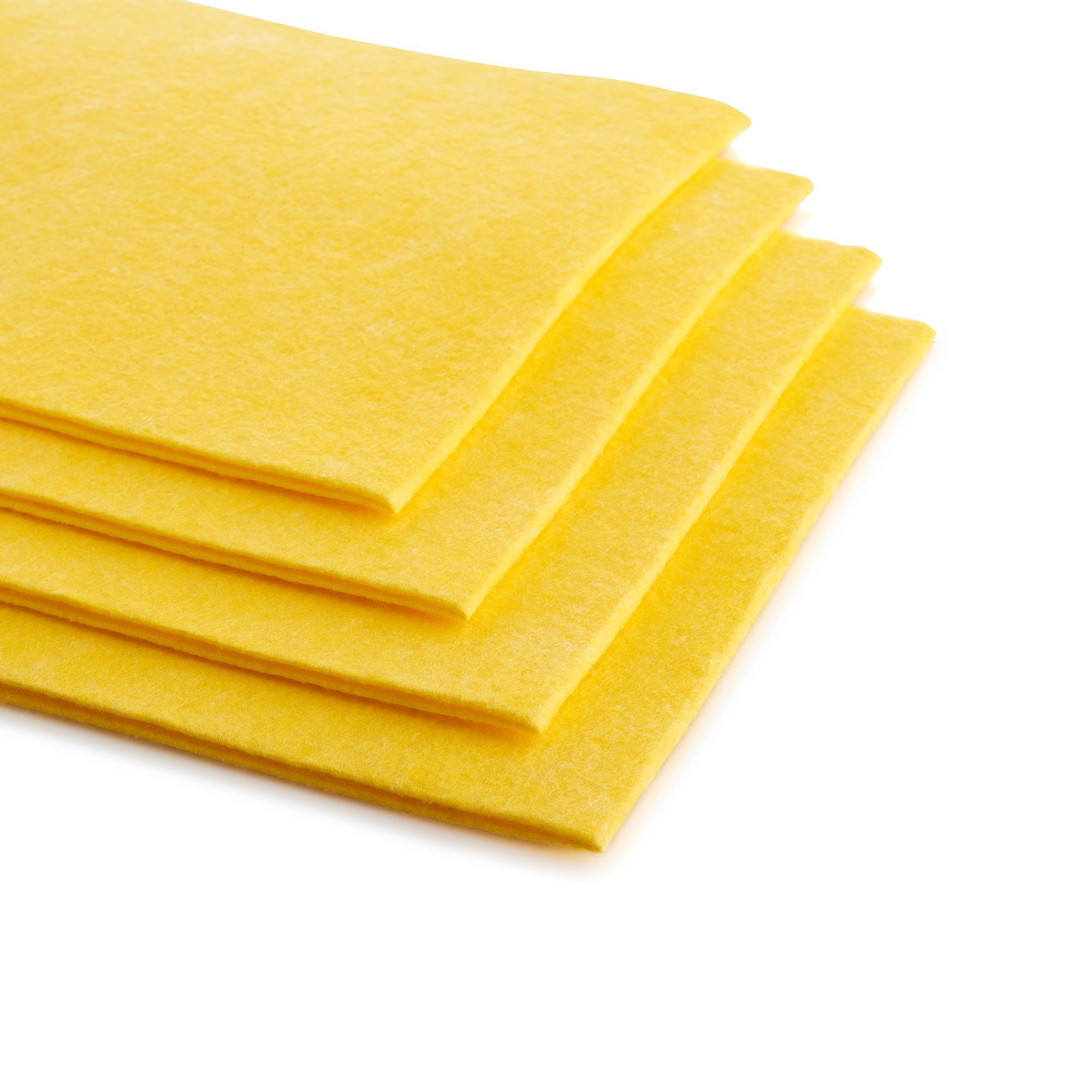 Wischtuch - gelb